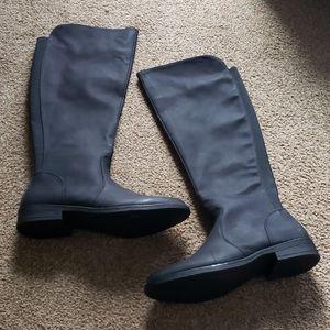 Harlow Black Knee High Boot